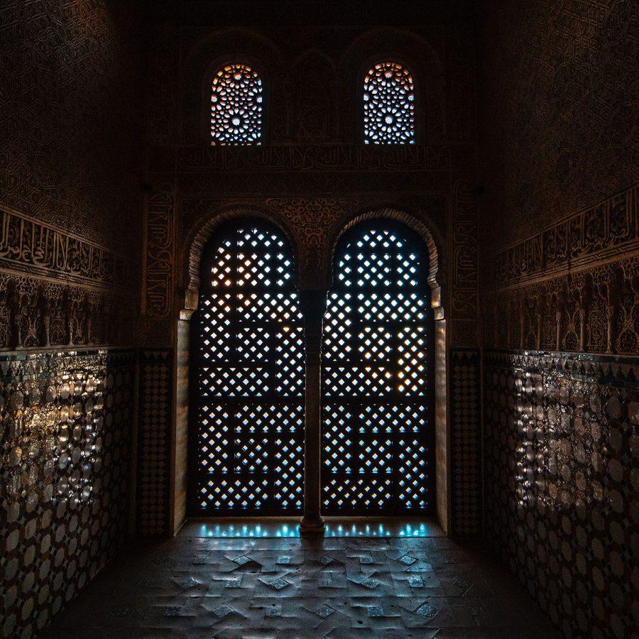 visitar granada, celosías de la alhambra