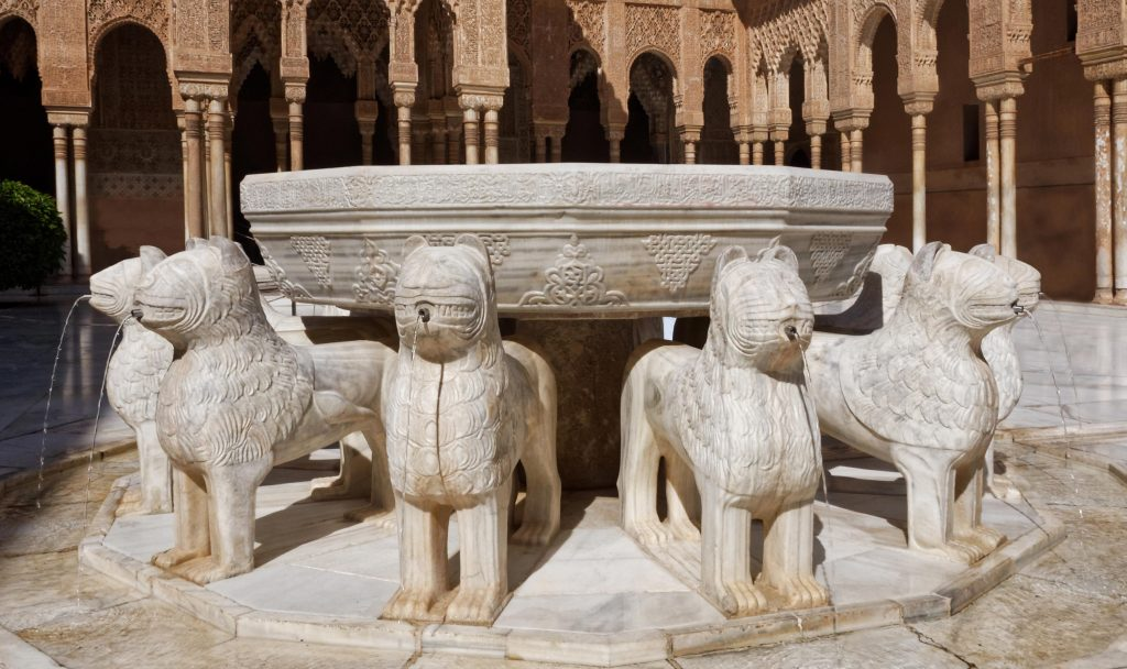 fuente-leones-agua-alhambra