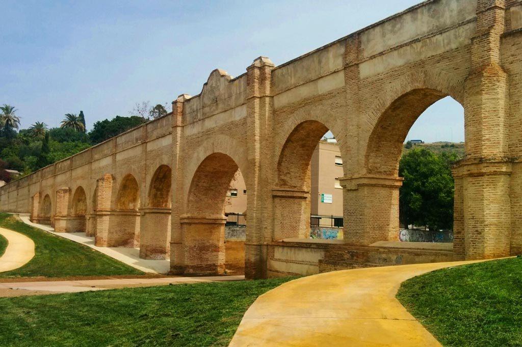 Acueducto de San Telmo. Málaga