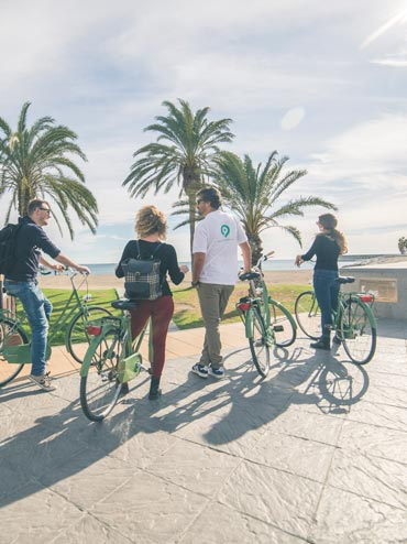 Ruta en bicicleta y gastronomía en Malaga