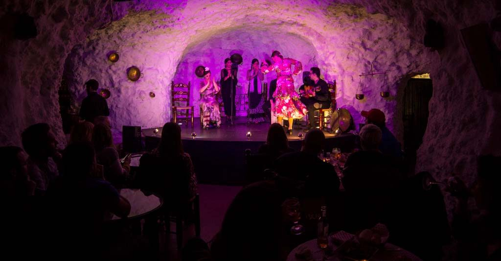 Tablao flamenco en Granada, el templo flamenco