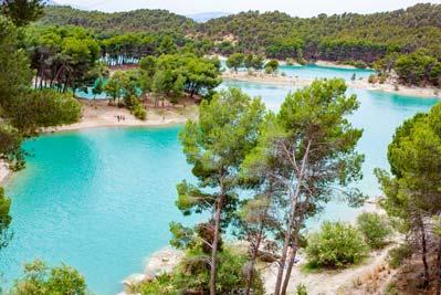 Fuentes de agua en Malaga. Pantanos