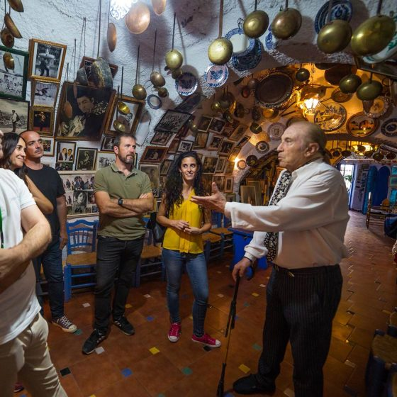 visita a cueva flamenca en el sacromonte de Granada