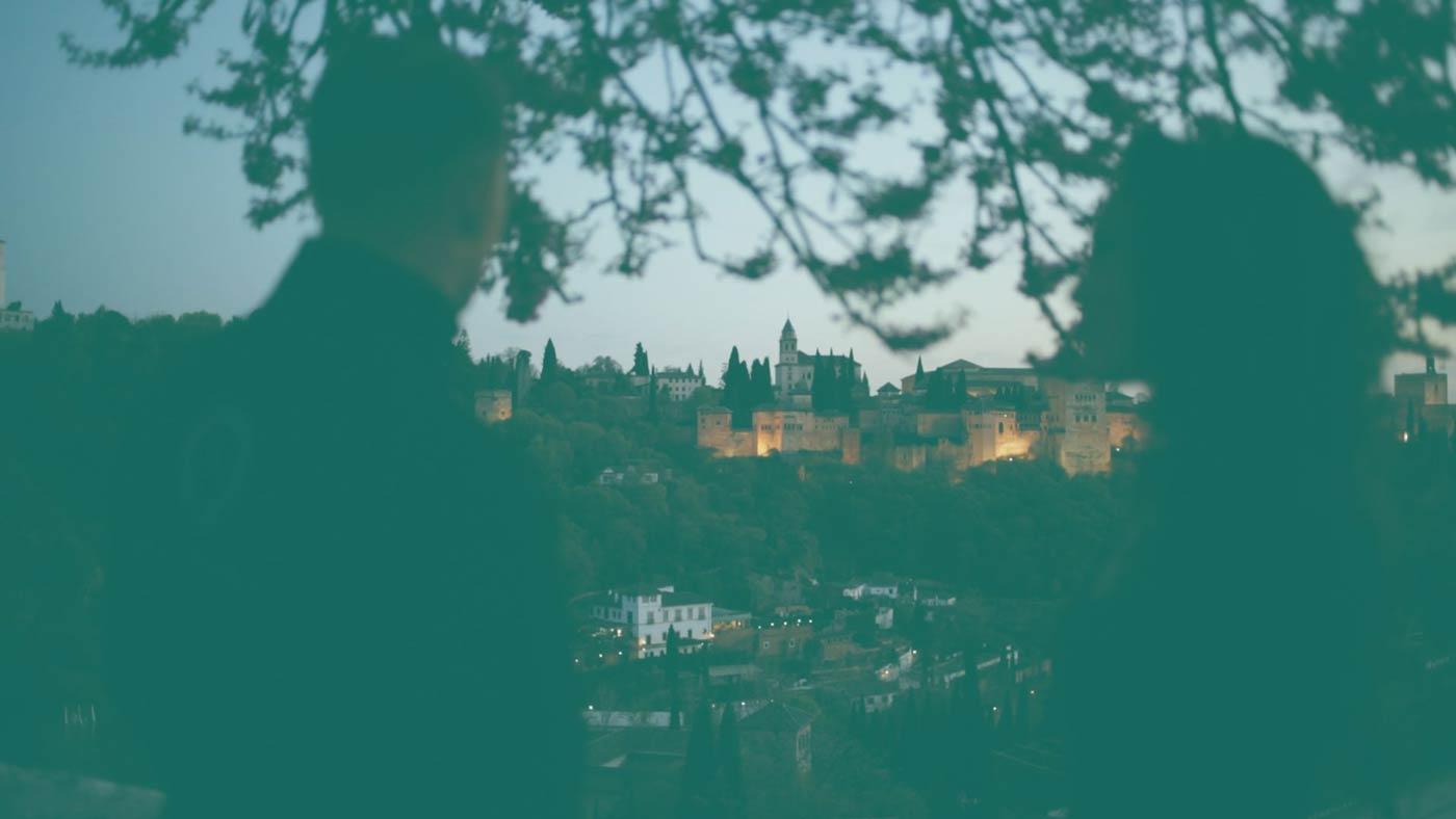 Vistas de la Alhambra desde el Sacromonte